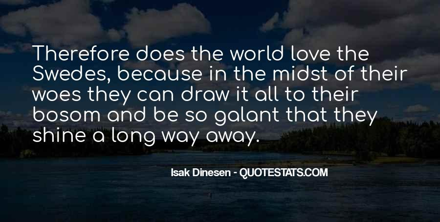 All Because Of Love Quotes #180080