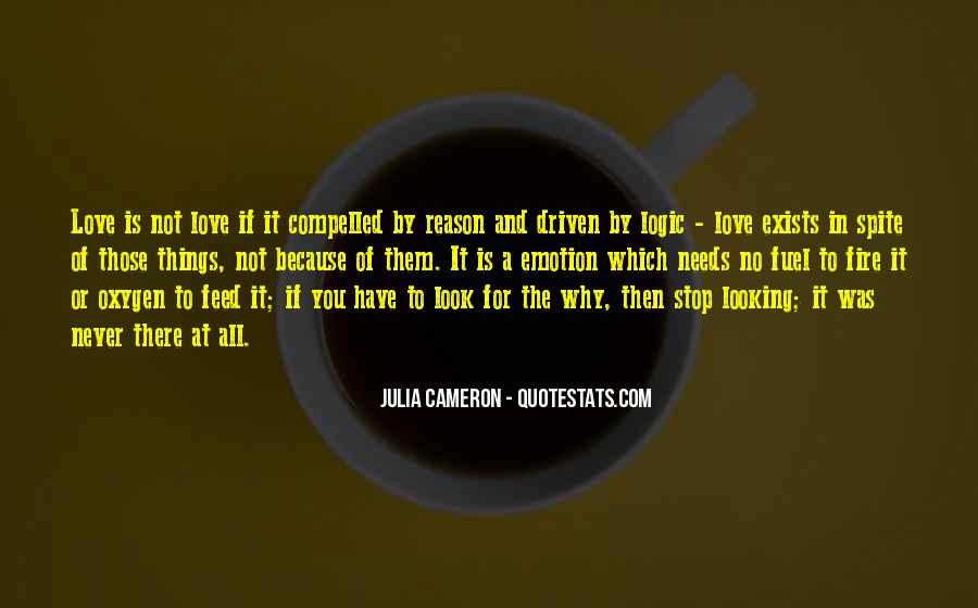 All Because Of Love Quotes #277451