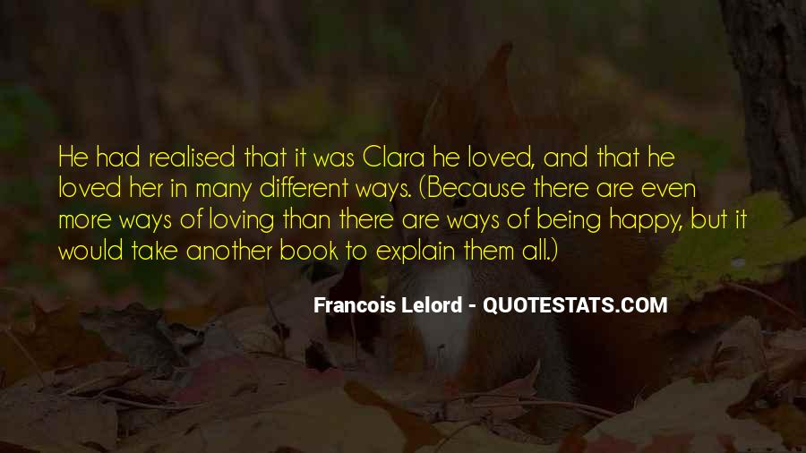 All Because Of Love Quotes #50957