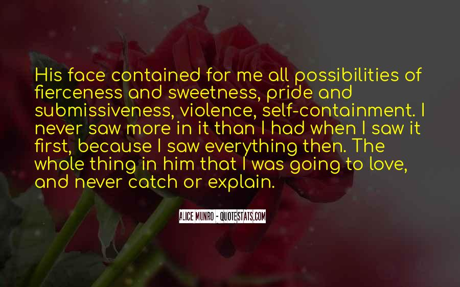 All Because Of Love Quotes #8981