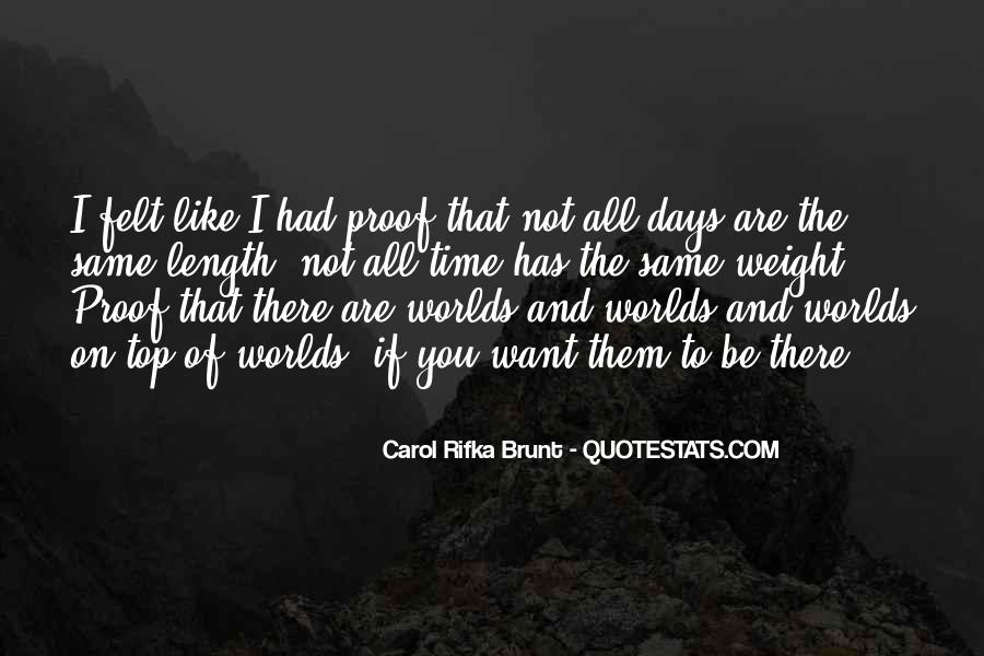 All Days Are Same Quotes #804918