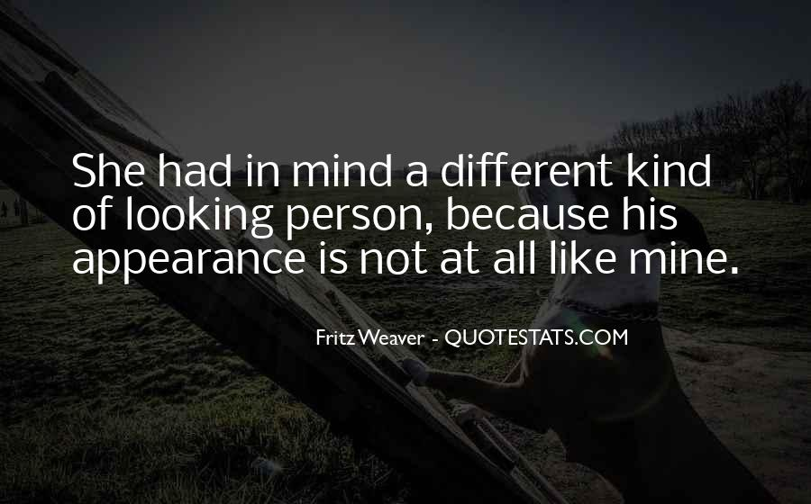 All Different Kind Of Quotes #1253872