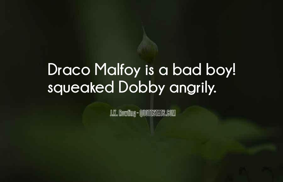 All Draco Malfoy Quotes #1156405