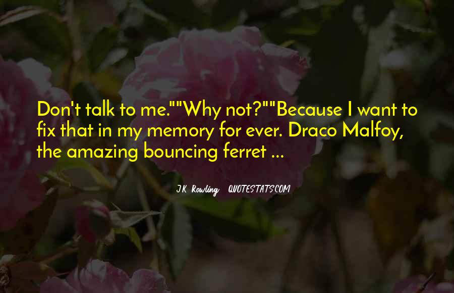All Draco Malfoy Quotes #1810710