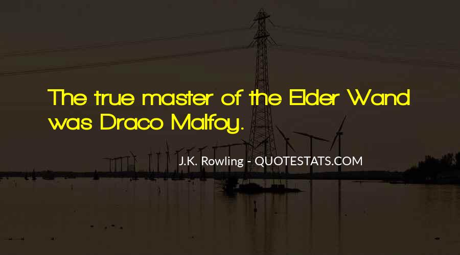 All Draco Malfoy Quotes #1852972