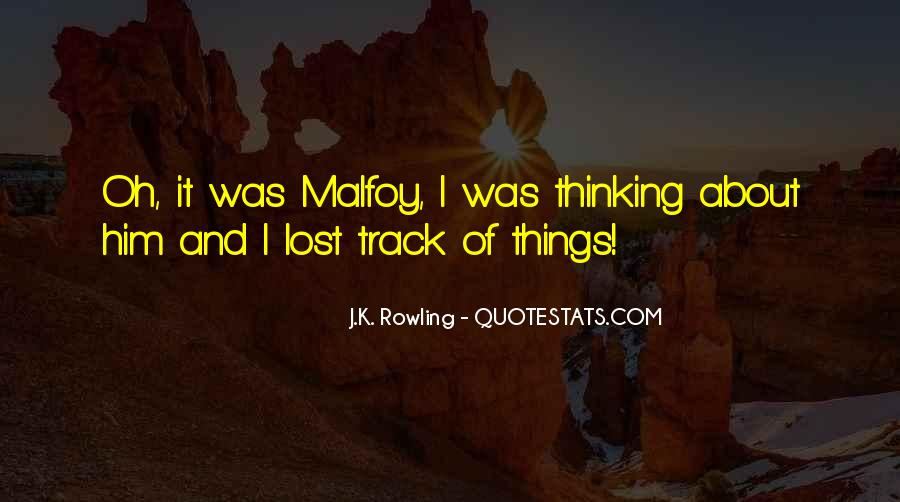 All Draco Malfoy Quotes #231112