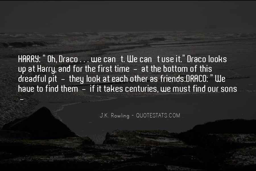 All Draco Malfoy Quotes #600901