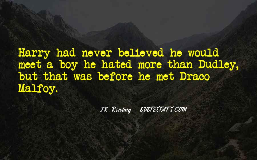 All Draco Malfoy Quotes #642646