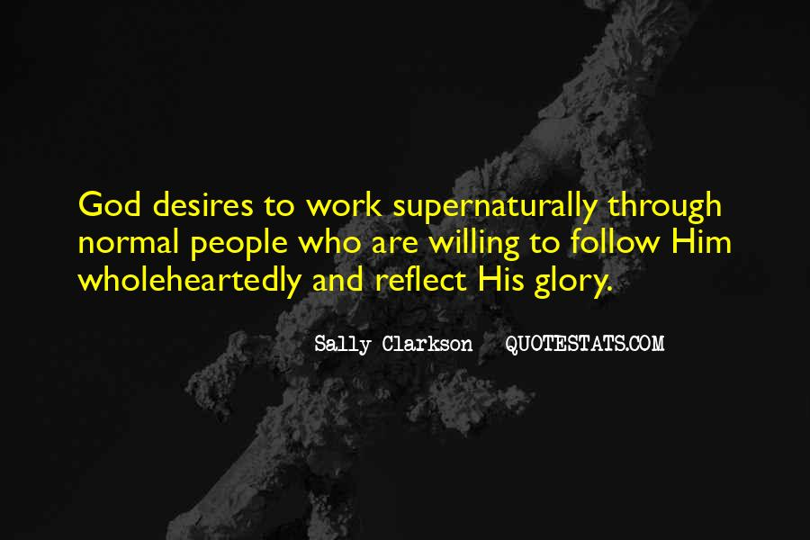 All For God's Glory Quotes #11185