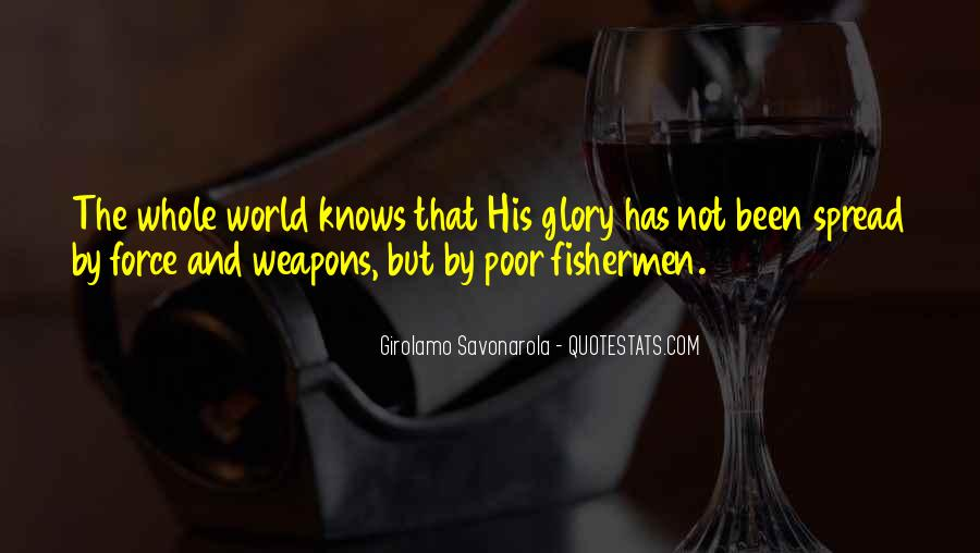 All For God's Glory Quotes #27753