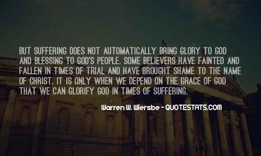 All For God's Glory Quotes #30462