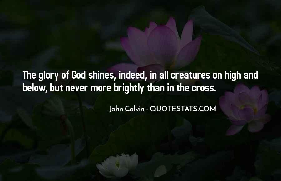 All For God's Glory Quotes #42190