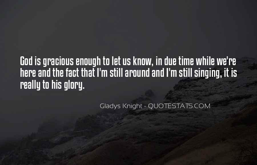 All For God's Glory Quotes #8166