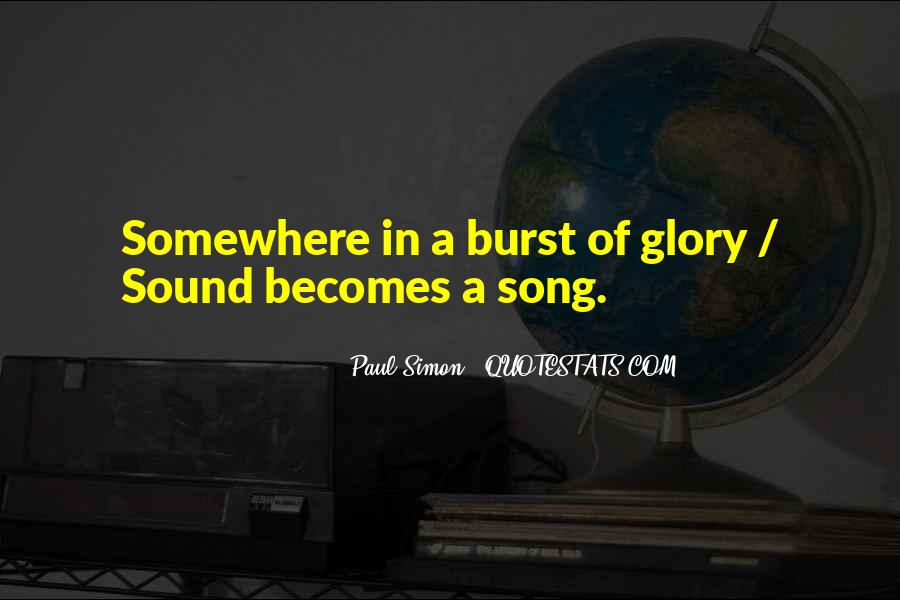 All For God's Glory Quotes #9769