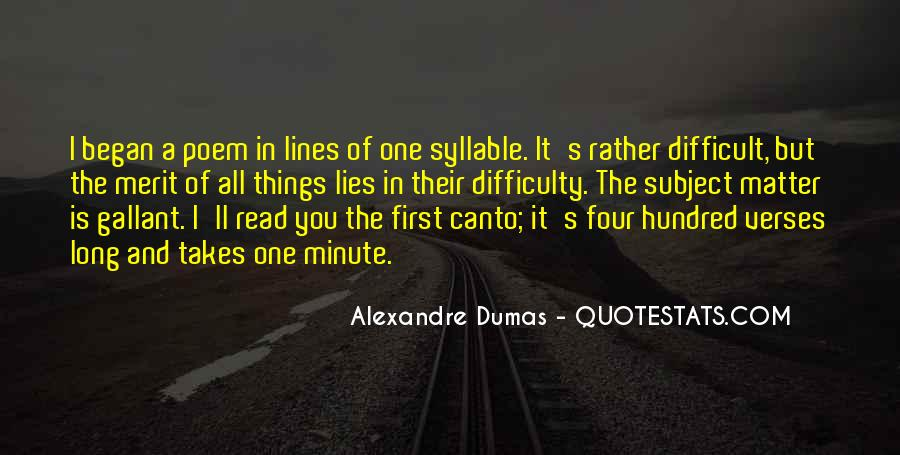 All It Takes Is One Quotes #312360