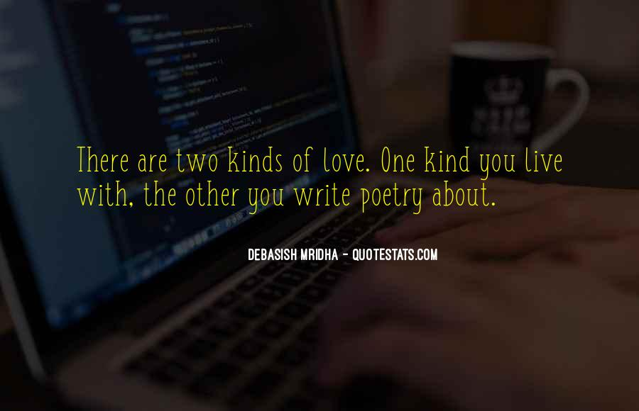 All Kind Of Love Quotes #7309