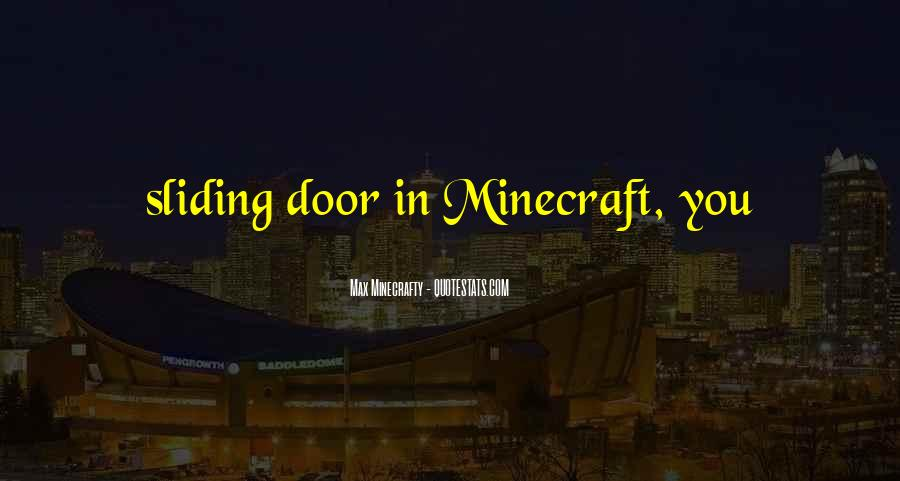 All Minecraft Quotes #1027605