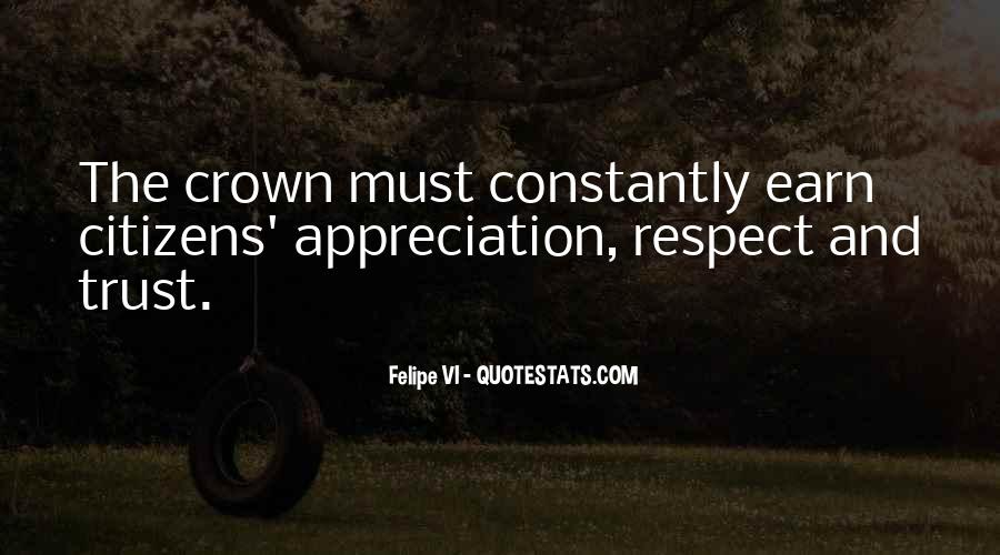All My Respect To You Quotes #10168