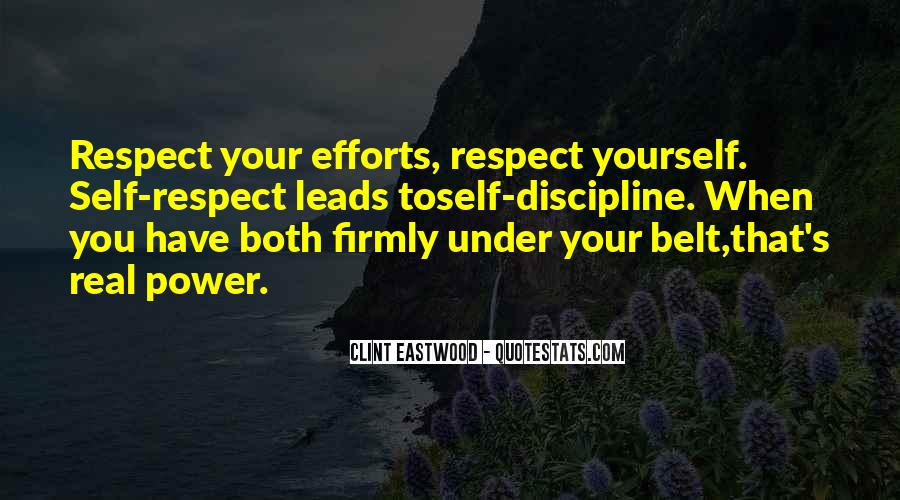All My Respect To You Quotes #15595