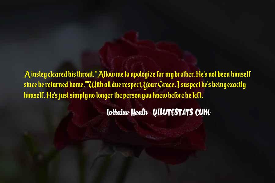 All My Respect To You Quotes #1857775