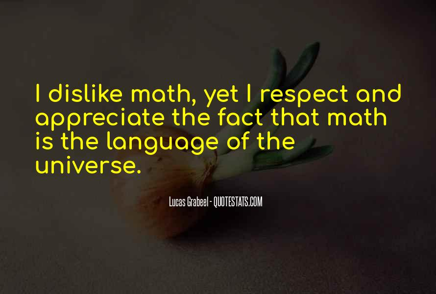 All My Respect To You Quotes #7395
