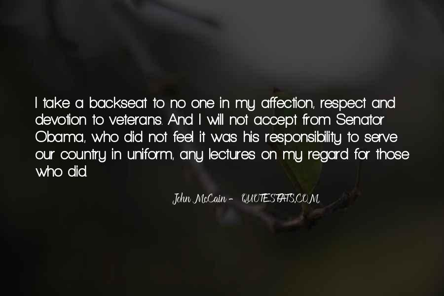 All My Respect To You Quotes #9324