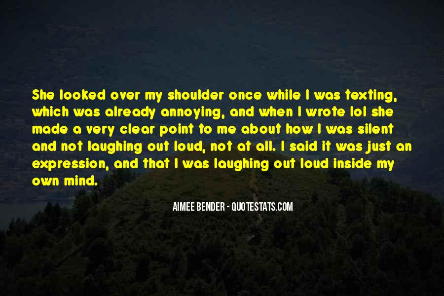 All Over It Quotes #27420