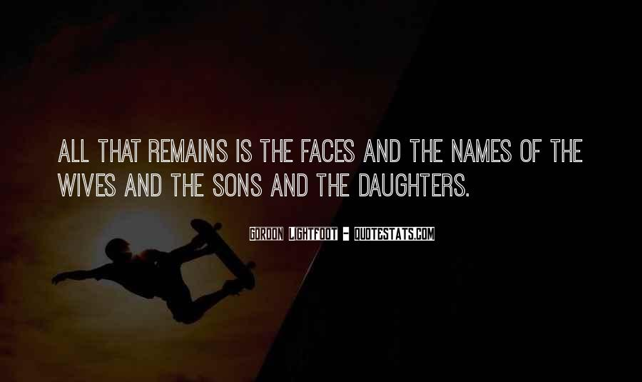 All Sons Quotes #494605