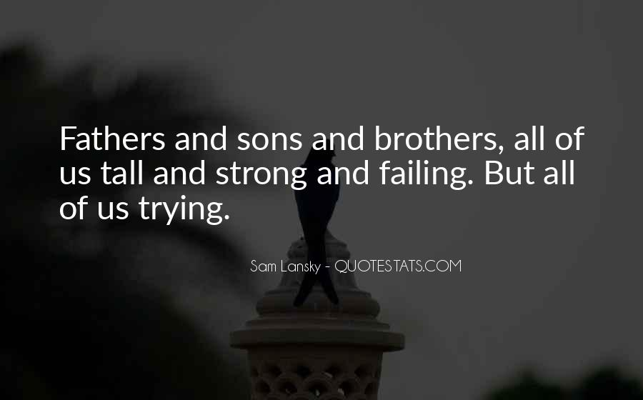 All Sons Quotes #544367
