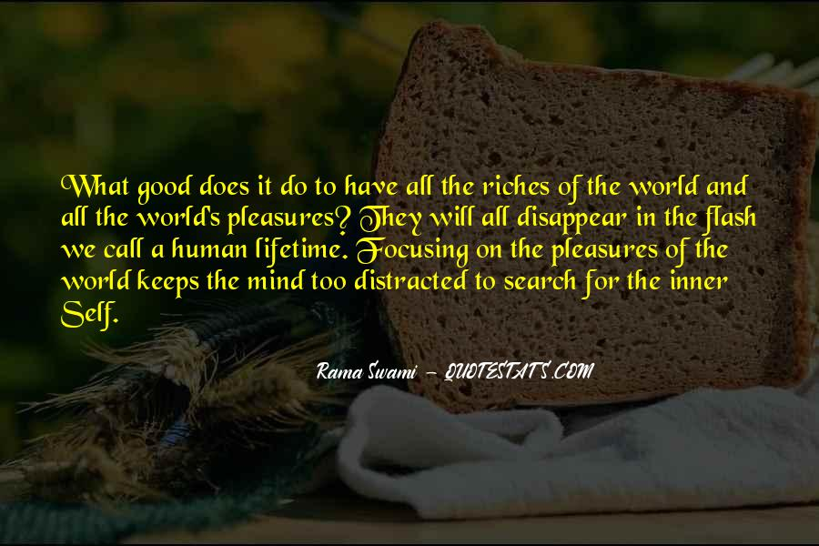 All The Riches In The World Quotes #1742628