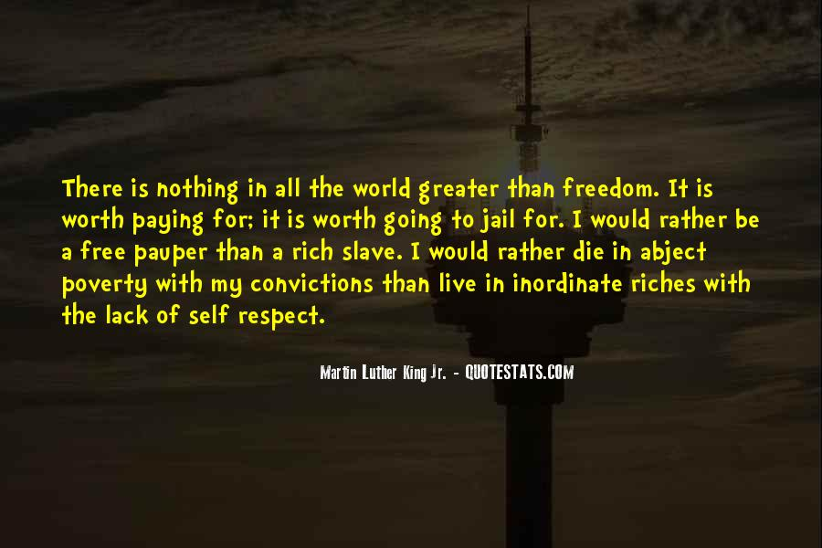 All The Riches In The World Quotes #1830814