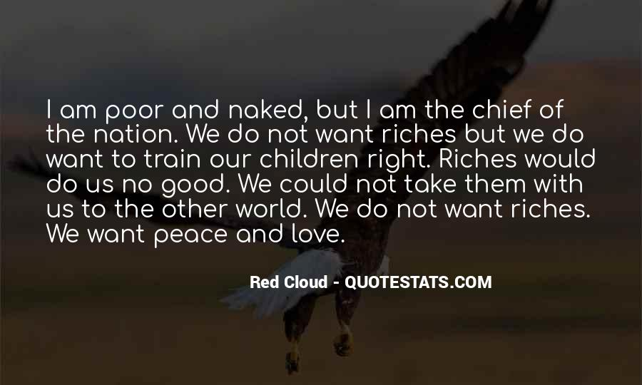All The Riches In The World Quotes #213885