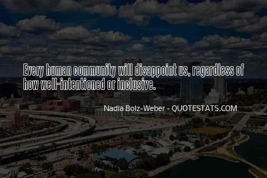 Quotes About Nadia #350987