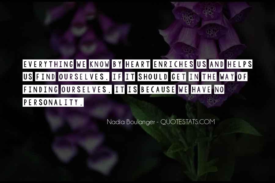 Quotes About Nadia #369077