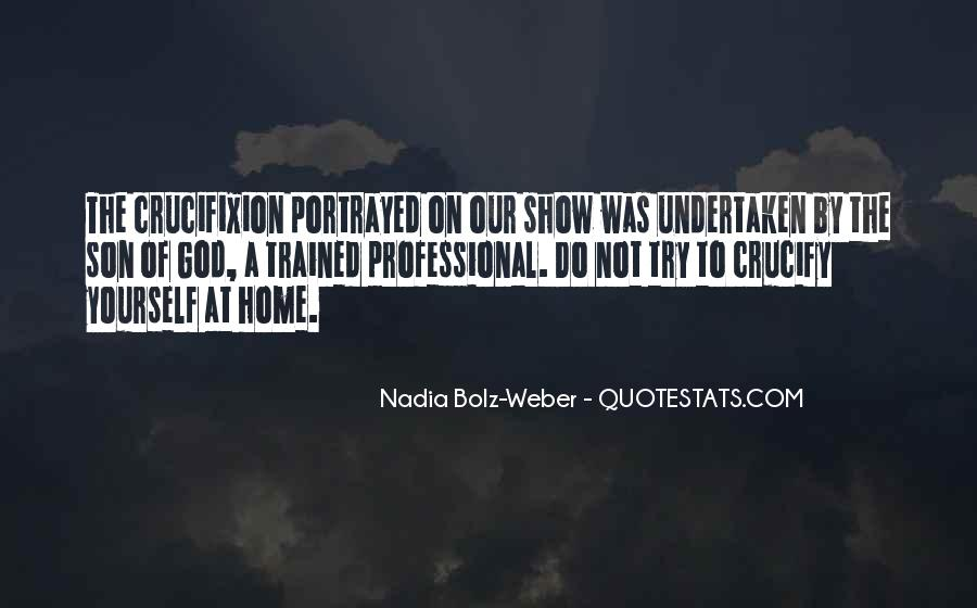 Quotes About Nadia #448239