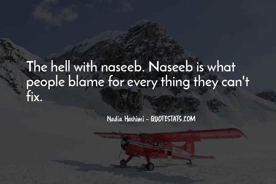 Quotes About Nadia #553377