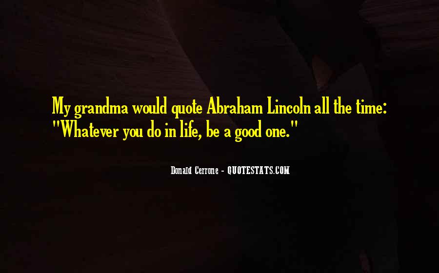 All Time Good Quotes #81540