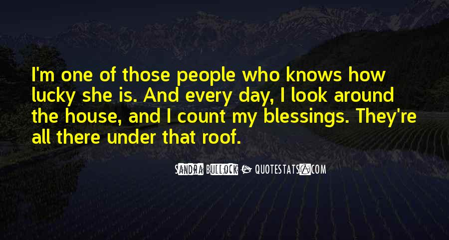 All Under One Roof Quotes #1197550