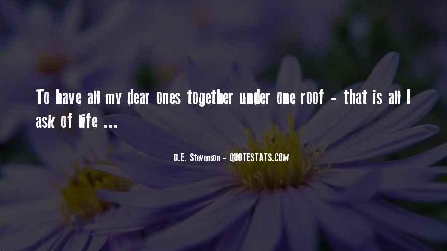 All Under One Roof Quotes #297933