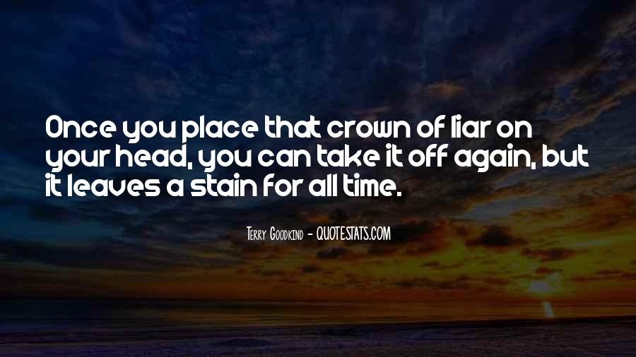 All Your Lies Quotes #1127383