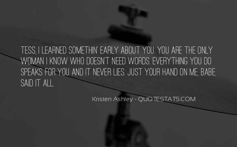 All Your Lies Quotes #1276649