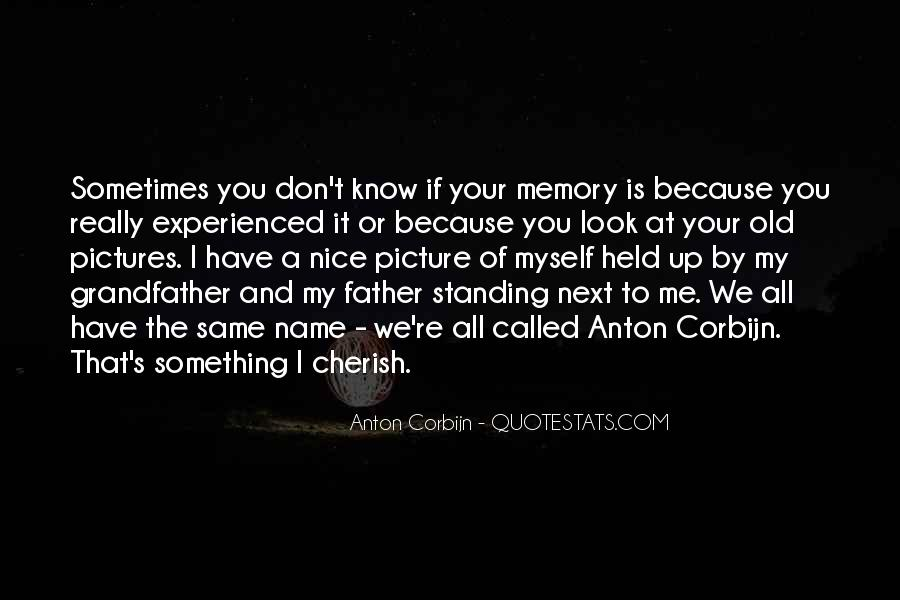All Your Memories Quotes #1256375