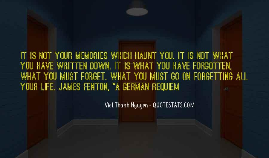 All Your Memories Quotes #1514904