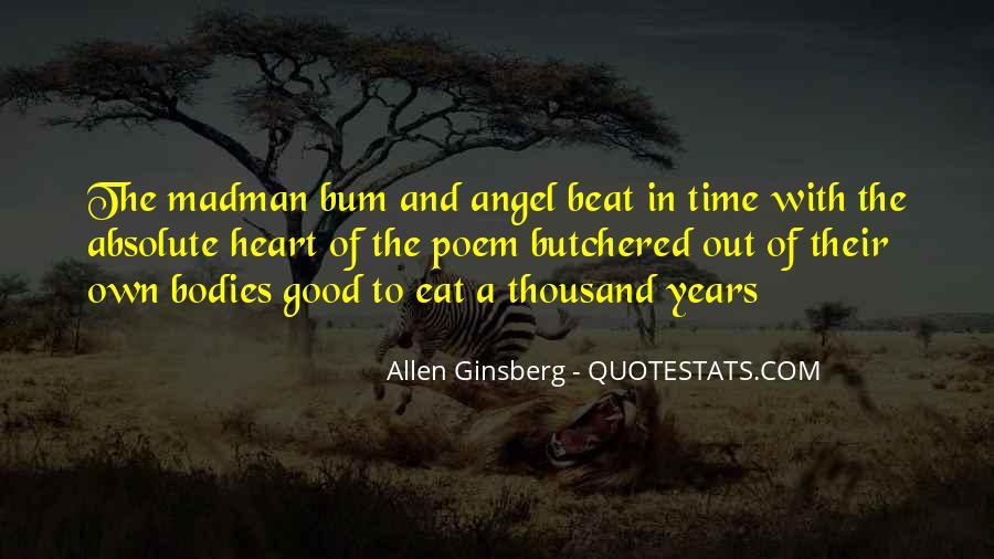 Allen Ginsberg Poem Quotes #351020