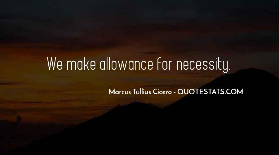 Allowance Quotes #1342216