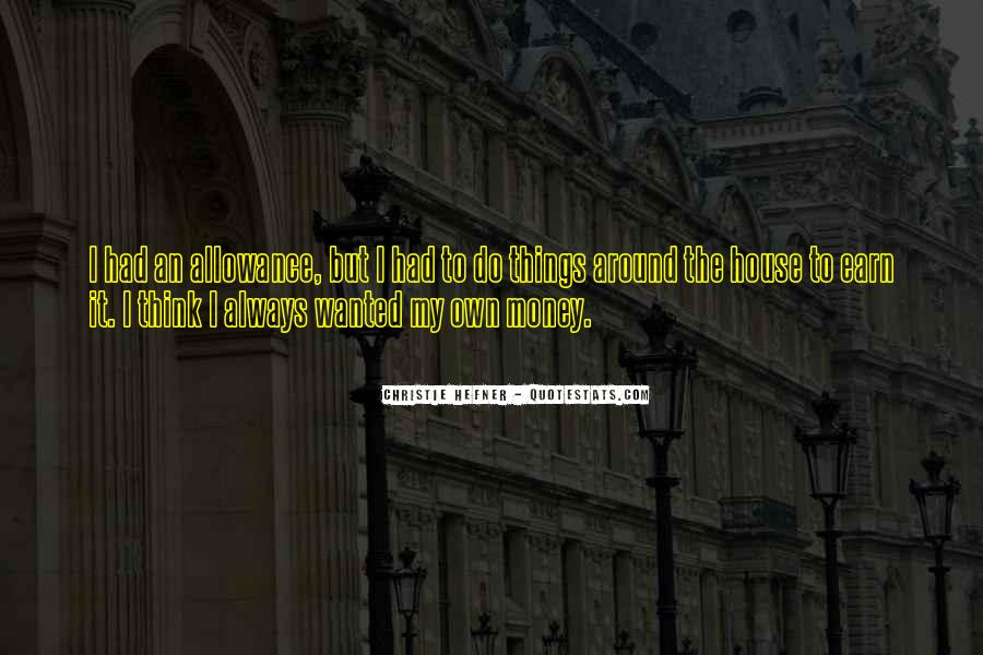 Allowance Quotes #1380985
