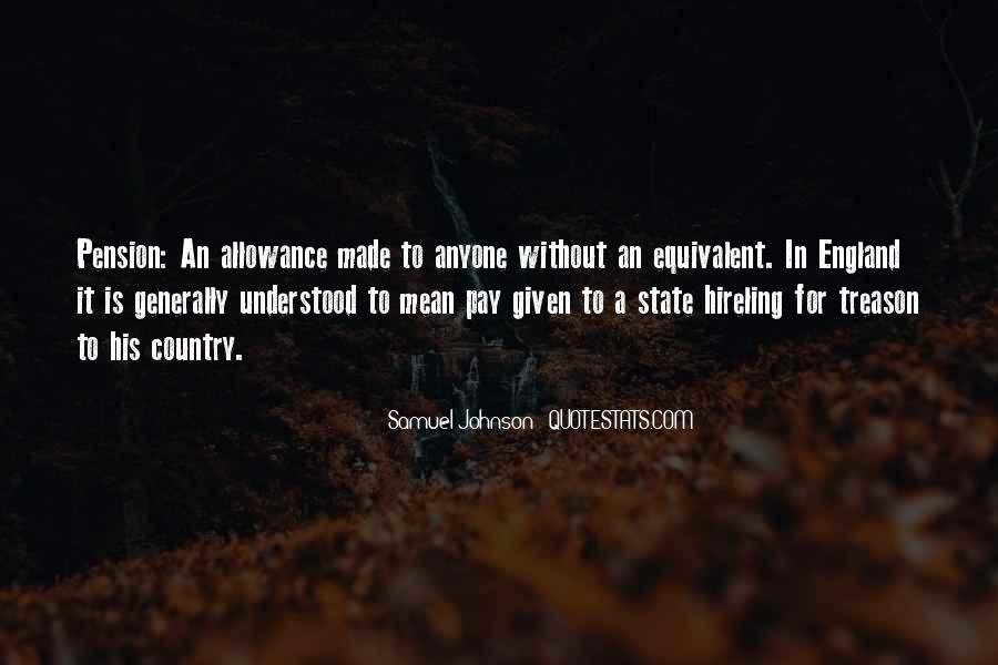 Allowance Quotes #274624