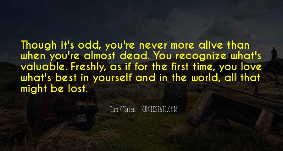Almost Lost Love Quotes #1431972