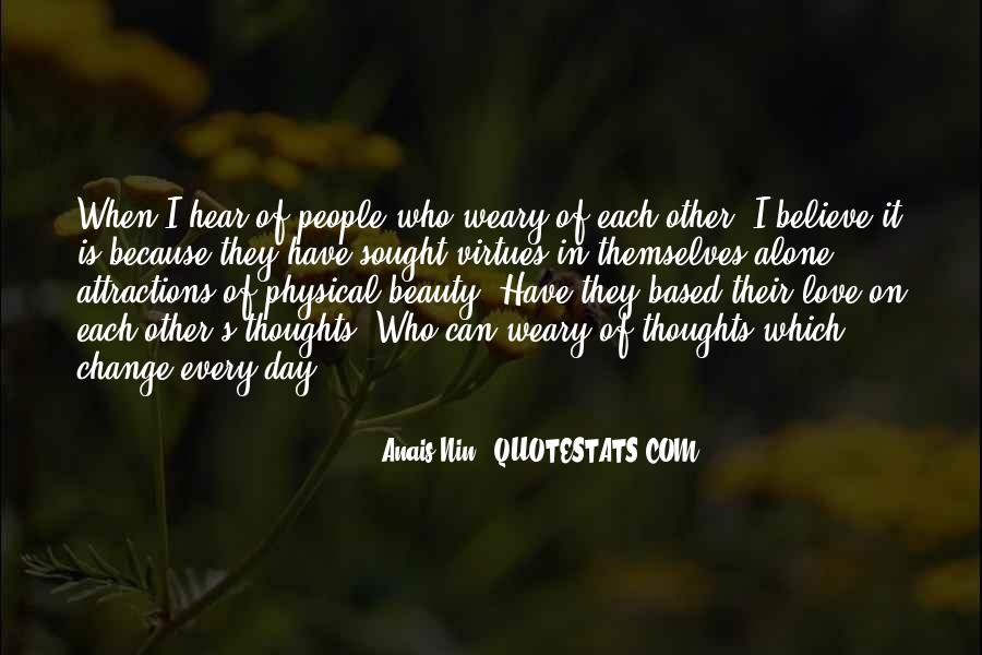 Alone Because Of Love Quotes #202317
