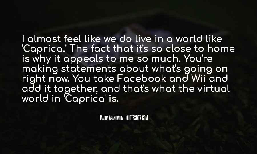 Quotes About Myself For Facebook #60456